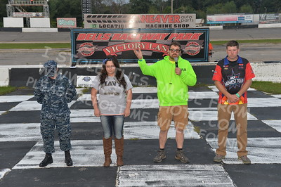"""20170902 846 - ARCA Midwest Tour """"Bill Meiller Memorial 101 presented by Assembly Products"""" at Dells Raceway Park - Wisconsin Dells, WI - 9/2/17"""