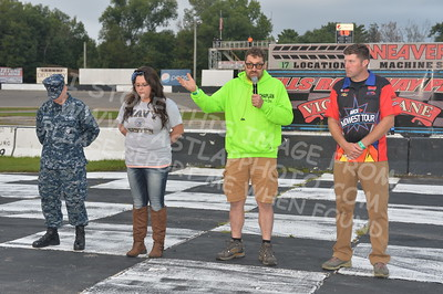 """20170902 848 - ARCA Midwest Tour """"Bill Meiller Memorial 101 presented by Assembly Products"""" at Dells Raceway Park - Wisconsin Dells, WI - 9/2/17"""