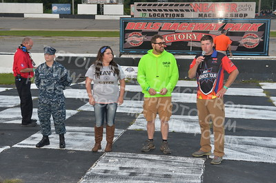 """20170902 842 - ARCA Midwest Tour """"Bill Meiller Memorial 101 presented by Assembly Products"""" at Dells Raceway Park - Wisconsin Dells, WI - 9/2/17"""