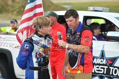 """20170923 319 - ARCA Midwest Tour """"Thunderstruck 93"""" at Elko Speedway - Elko, MN - 9/23/17"""