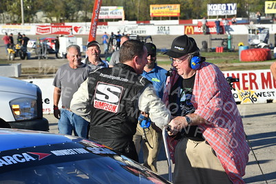 "20171008 813 - ARCA Midwest Tour ""Oktoberfest Race Weekend"" at LaCrosse Fairgrounds Speedway - West Salem, WI - 10/8/17"