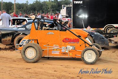 ARDC Midgets at Dixieland Speedway - 8/5/11