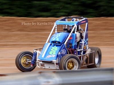 ARDC Midgets at Dixieland Speedway - 6/23/06