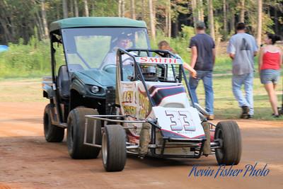 ARDC Midgets at the Elm City (NC) track - 8/1/11