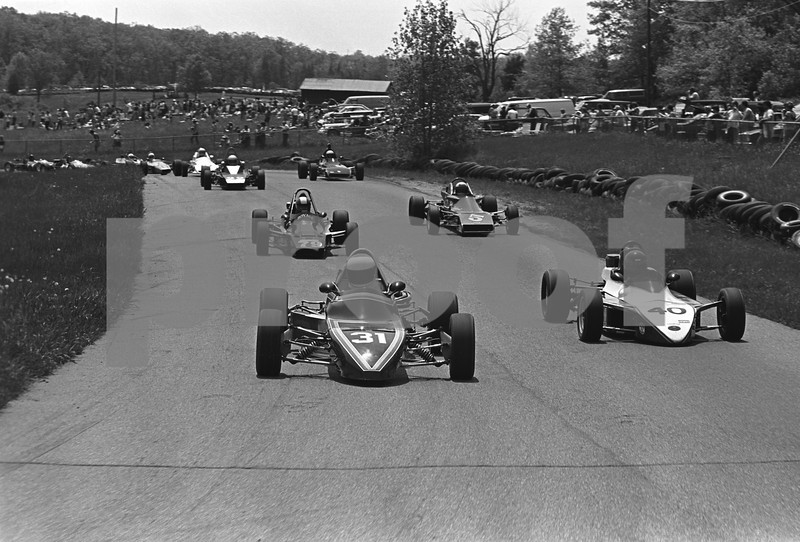 This view is just a few feet past the previous one and it shows the start of Turn 4 at Hilltop.