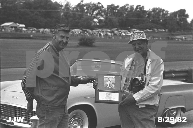Don Burry (left) and Al Bizer (right)