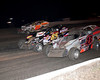 Action from Volusia Speedway Park on Feb. 23.  Published in the Feb. 28th edition of AARN.
