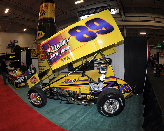 This photo from Motorsports 2012 shows the Fred Kennedy #89 Driven by Robbie Stillwaggon.  Stillwaggon is among the favorites to capture the 2012 URC  crown.  It was published in the January 24th edition of Area Auto Racing News.