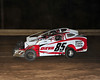 Teenager Ricky DeEva races with Ryan Anderson at Bridgeport Speedway on June 30th.  This photo appeared in the July 3 edition of AARN.