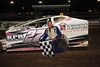 Ryan Anderson was in Victory Lane for the second time this season in the Sportsman diviision at Bridgeport Speedway on June 16th. This Victory Lane photo appeared in the June 19th edition of AARN.