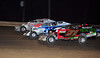 This three Bridgeport Speedway three wide action shot of Duane Howard, Ryan Godown and Mike Mammana graced the front page of Area Auto Racing News on November 13th.