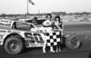 This 1985 photo of Doug Hoffman in Bridgeport's Victory Lane appeared in the January 10th edition of Area Auto Racing News in conjunction with a Brett Deyo article about Doug taking over the helm of Bridgeport.