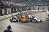 Friday night action in Atlantic City.  This photo appeared in the Feb. 7th edition of Area Auto Racing News.