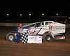 Ryan Anderson in victory lane on on July 24th.  This photo appeared in the July 31 edition of AARN