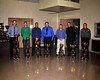 The top men in points in the Crate Modified division were honored at the 2012 Bridgeport Speedway awards banquet on December 8th.  This photo appeared in the December 11th edition of Area Auto Racing News.
