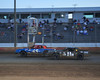 Close at the line were the Outlaw Stocks on June 16th at Bridgeport Speedway. This photo appeared in the June 19th edition of AARN.