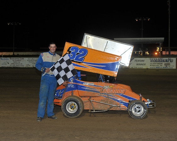 270 Victory Lane.  This photo appeared on the April 24th edition of Area auto Racing News.
