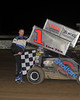 600 Victory Lane.  This photo appeared on the April 24th edition of Area auto Racing News.