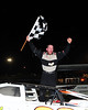 Mike Cogdill got his first Sportsman win at Bidgeport on June 30th.  This photo appeared in the July 3 edition of AARN.
