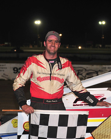 Richie Pratt Jr. collected his third victory of the season at Bridgeport Speedway on June 16th.  This Victory Lane photo appeared in the June 19th edition of AARN.