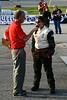 Late Model fast qualifier, Emily Sue Steck, with Chris Clark