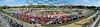 Oktoberfest Sunday fan photo panorama
