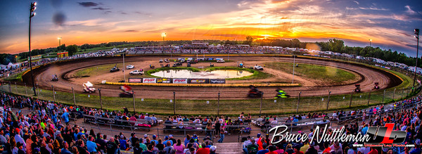 Cedar Lake Speedway, WoO Sprints, July 9th, 2016