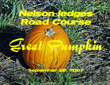Nelson Ledges - Great Pumpkin 2007
