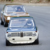 #42 1967 BMW 1600  , White/Blue, BS, Murray David, Group 1a/2b small & medium bore production  & 88 1968 BMW 2002, Gold, BS, John Murray, Group 2 meduim bore production