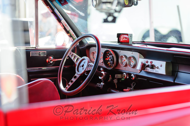 #24 1965 Ford Falcon, Red, AS, Randy Dunphy, Group 3 large bore production