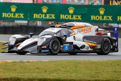 Jan 23, 2020, Daytona, FL, USA; Drivers compete for the pole position during qualifying for the Rolex 24 hour auto race at the Daytona International Speedway. Mandatory credit: Mike Watters
