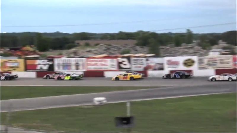 Super Late Model Feature, June 3rd, 2012. Raceway Park, Shakopee, MN