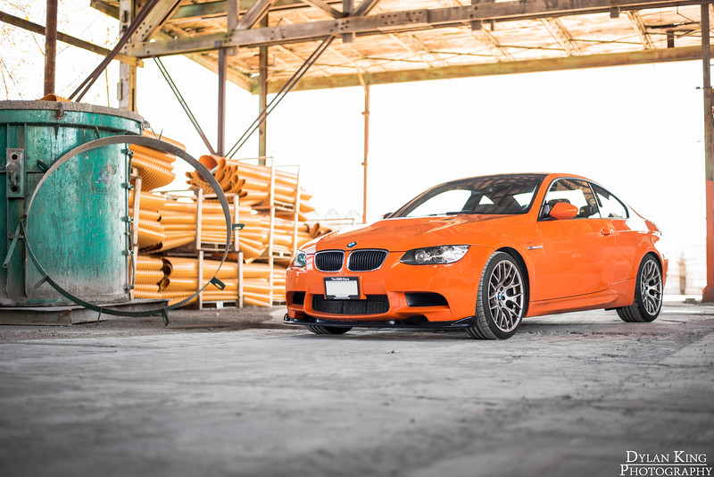 Fire Orange BMW E92 M3