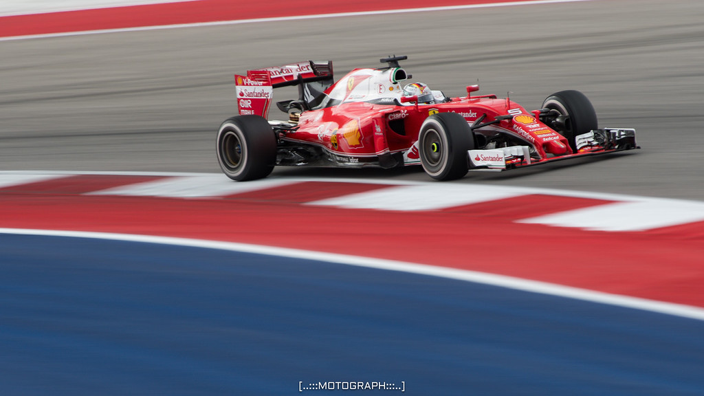 Sebastian Vettel missed the podium by one spot taking 4th on the day