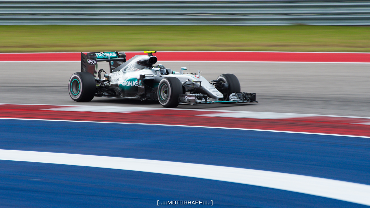 Nico Rosberg took his Mercedes to a 2nd place finish