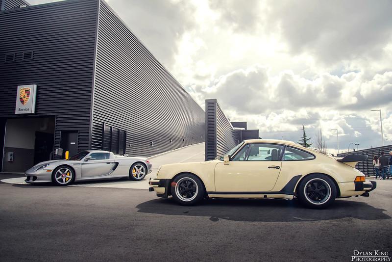 Porsche 930 Turbo + Carrera GT