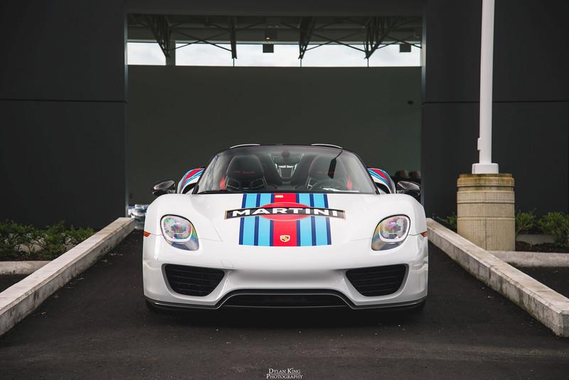 Porsche 918 Spyder Weissach Martini Livery
