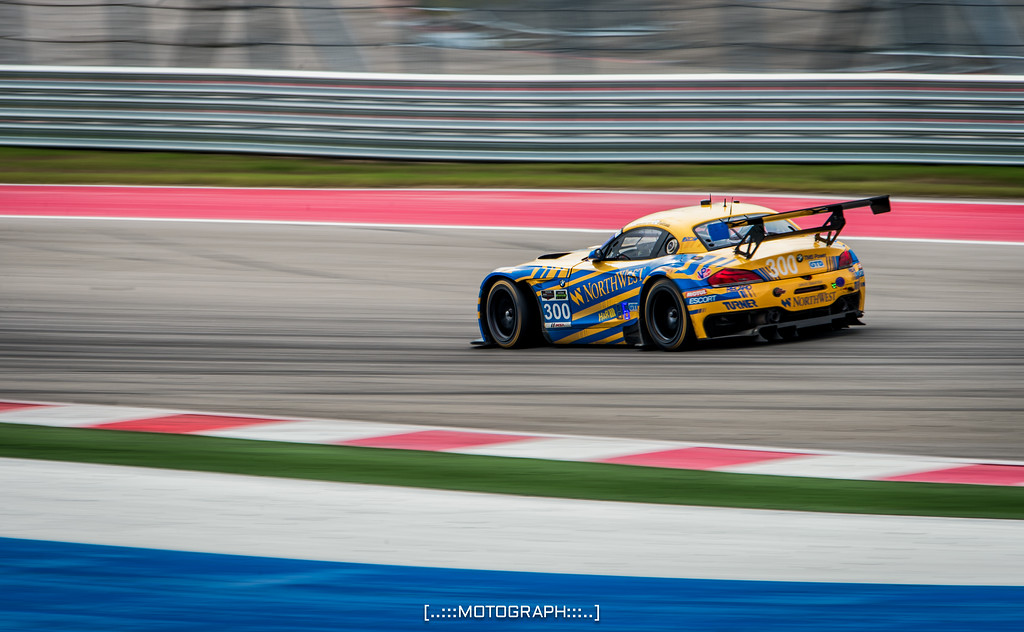 The Turner Motorsport BMW Z4 celebrated its 300th start with a strong 3rd place finish in the GTD class