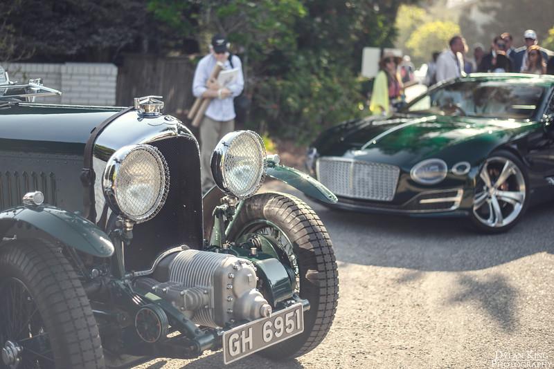 An interesting pair of Bentleys