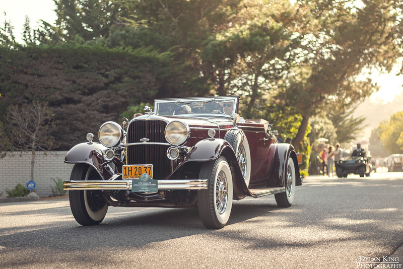1932 Lincoln KB LeBaron Convertible Roadster
