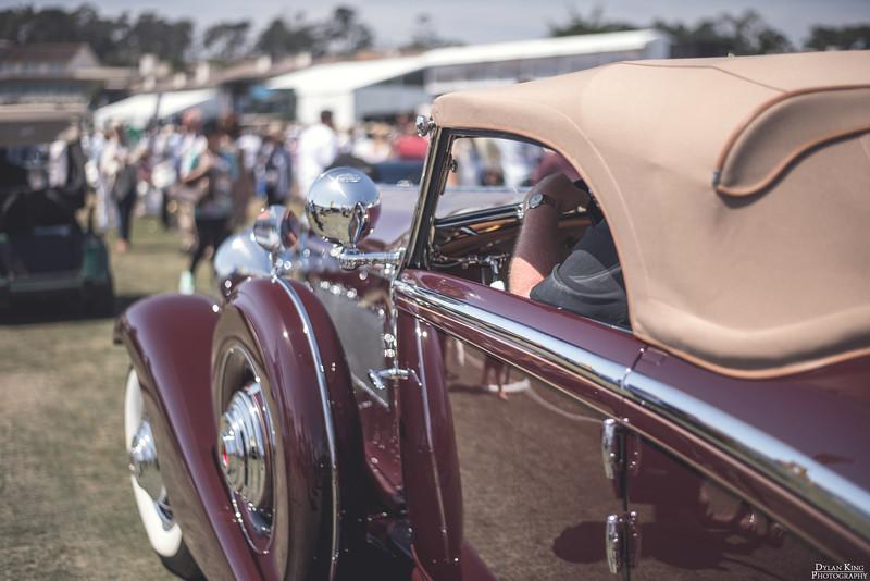 1934 Duesenberg SJ Walker-LaGrande Convertible Coupe
