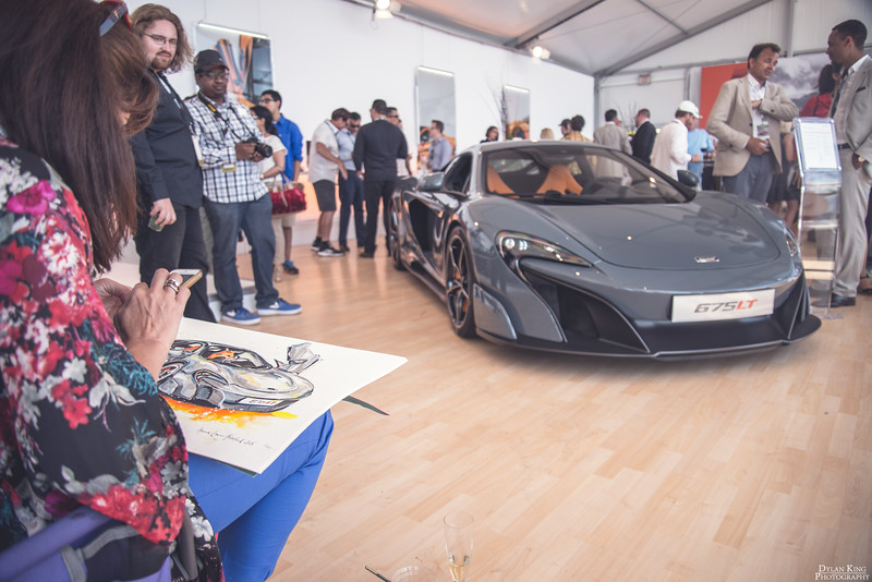 Pebble Beach McLaren Tent