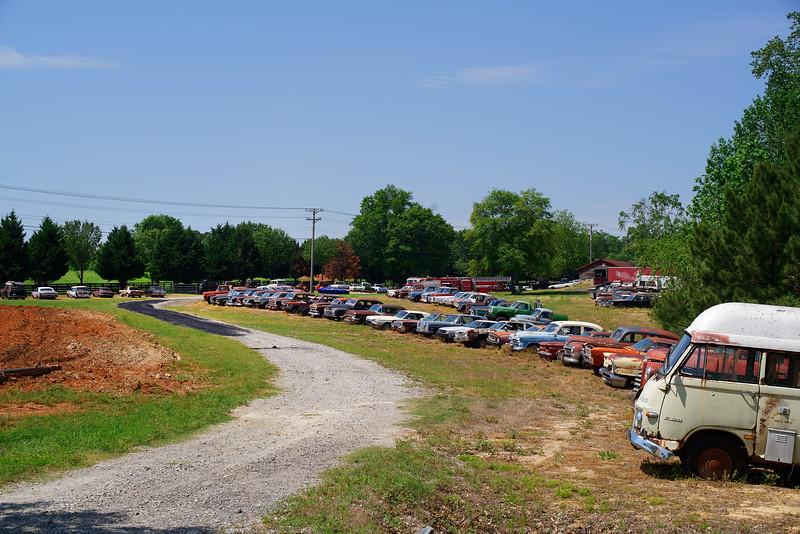 Simpson Farm Auto Graveyard, Talmo, GA