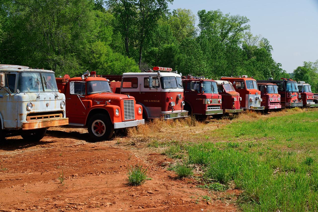 Fire Truck Row!