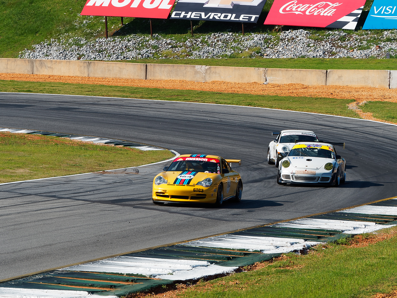 Porsche's pass in review