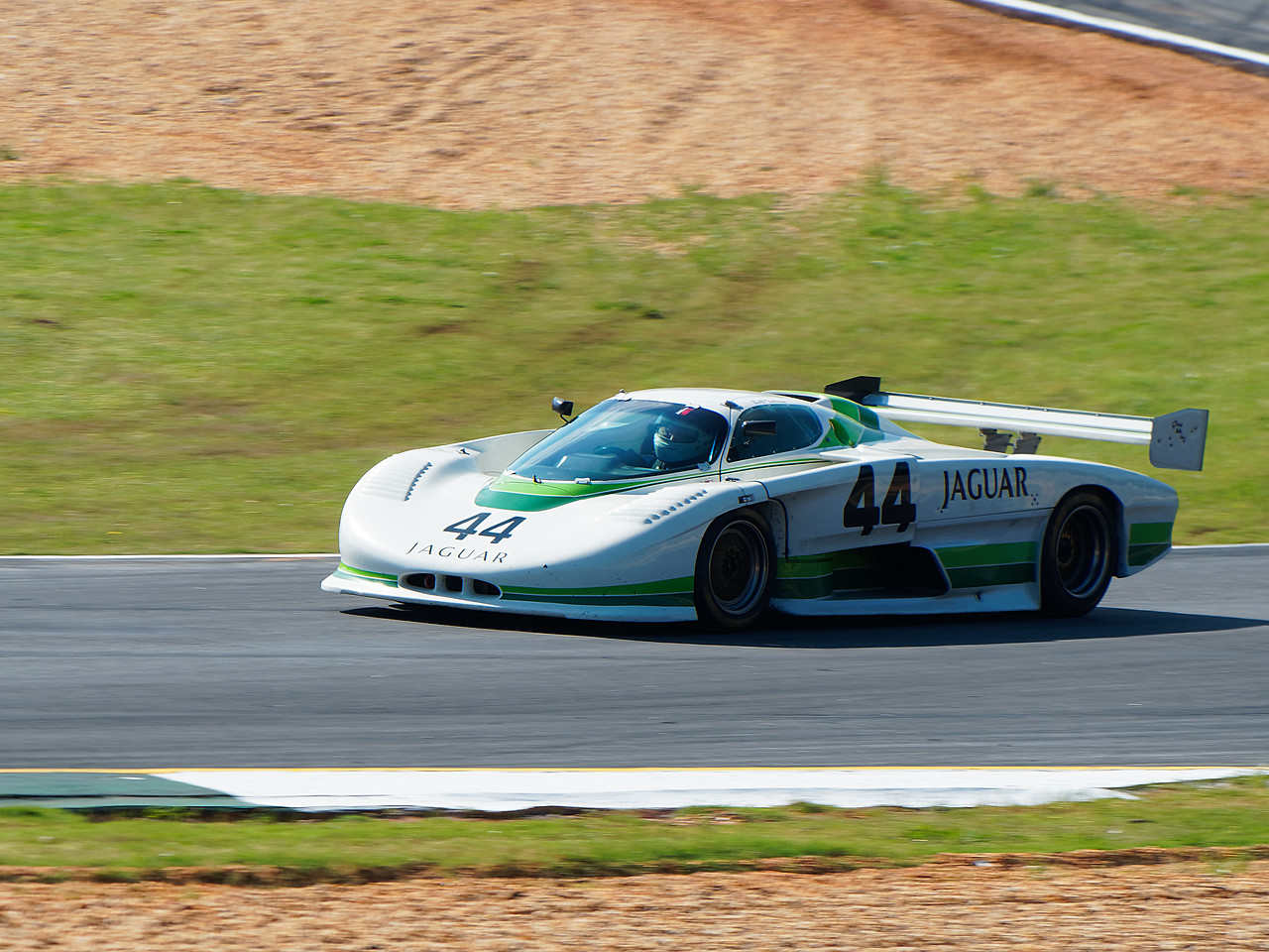 Beautifully sleek TWR Jaguar