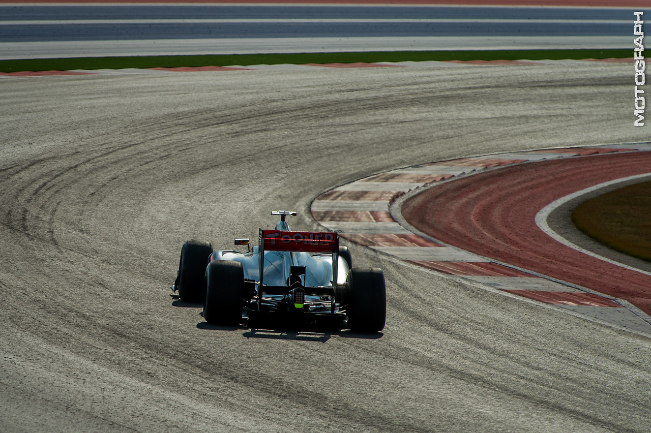 Lewis Hamilton rides into the Texas sunset as the first winner of the Circuit of the Americas United States Grand Prix