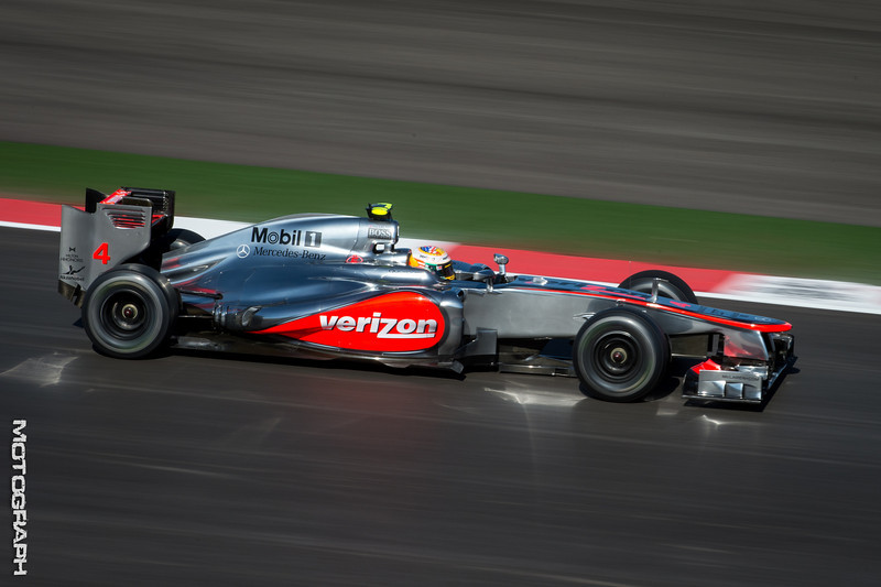 Team McLaren's Jensen Button