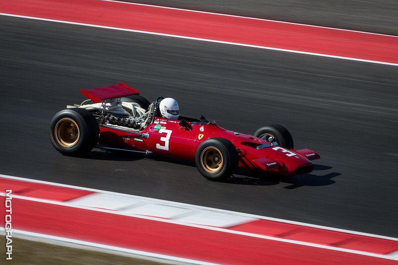 A beautifully maintained Ferrari 312