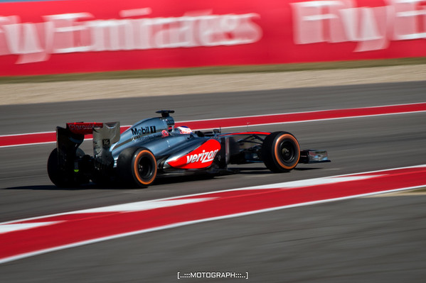 Team McLaren's Jenson Button